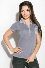 Поло женское 516F439-1 цвет Сиреневый варенка