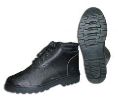 Обувь юфтевая для силовых структур (юфть/кирз