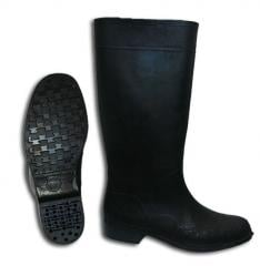 Boots workers rubber