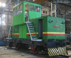 Электровоз ЭКУ -1-01 для транспортирования вагонов с коксом к тушильным устройствам (установкам сухого тушения или тушильным башням) и доставки кокса к рампам (при мокром тушении), пр-во Днепротяжмаш, Украина