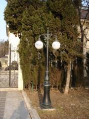 Decorative park lamps