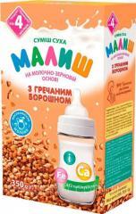 Детская сухая смесь молочно-зерновая с гречневой