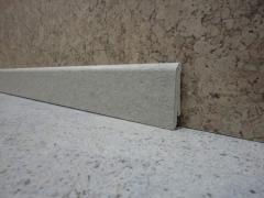 The plinth is floor