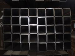 Pipes profile 100х100 - 140х140, 120x80 - 180x100