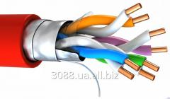 Cable for the fire and security alarm system