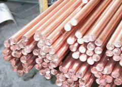 Copper bars (always available) with delivery