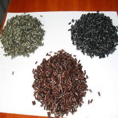 Polystyrene granule black