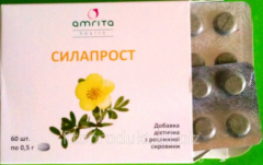 Phytopreparation for man's health – SILAPROST