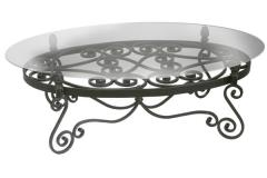 Furniture from forging