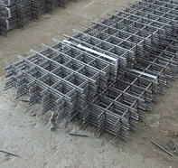 The grid is welded reinforcing, Armapoyas from the