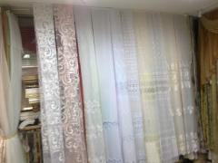 Текстиль:тюль,гардинная ткань,оббивочная