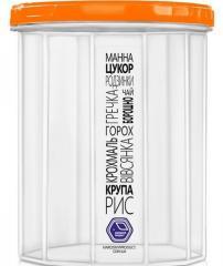 Контейнер пластиковый для сыпучих продуктов 1500