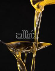 Sunflower oil of a hot extraction not refined