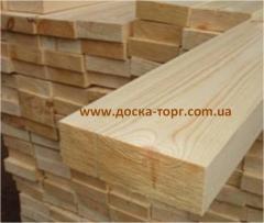 Board ash-tree of dry not cut 30 mm