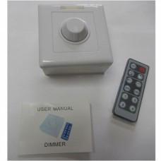 Диммер для LED ленты 12V,  6A,  с инфракрасны