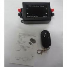 Диммер для LED ленты 12V,  6A,  с радио...