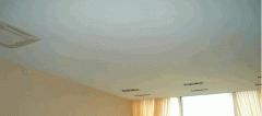 Opaque stretch ceiling
