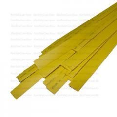 Термоусадка W-1-H WOER, 2.0/1.0мм, жёлтая, 1м