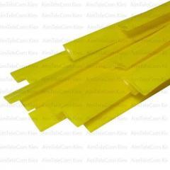 Термоусадка RSFR-105 WOER, 1.0/0.5мм, жёлтая, 1м