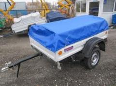 Automobile trailers KRKZ-100, KRKZ-150, KRKZ-200,