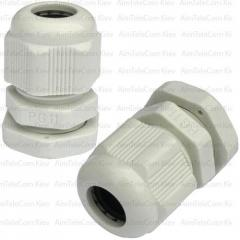 Пластиковый кабельный ввод, 5-10мм, PG-11