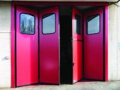 Gate are hangar folding, hangar gate, to buy