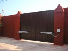 Automatic equipment for oar gate of FAAC, the