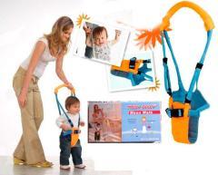Ходунки детские, ходунки вожжи для ребенка Лунная