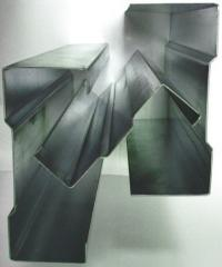 Steel bent profile