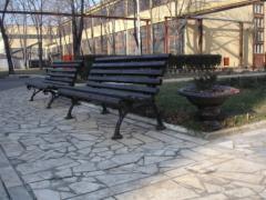 Уличные скамьи в Одессе