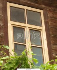 Сосновый трехслойный брус для производства окон