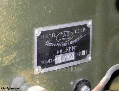 Бирка ГАЗ-АА 19?? г.в.+ оригинальные заклепки