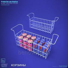 Baskets for refrigerating chests