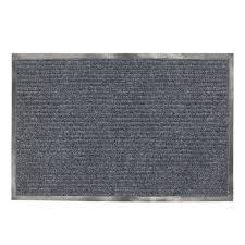 Коврик входной Ребро 90x150 Серый, серый