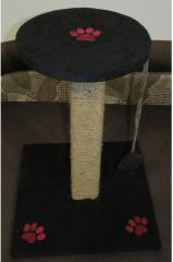 Когтеточка-столбик чёрная 50 см.