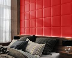 Панель Родео красное Размер 50х50 см. Готовые