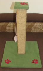 Когтеточка-столбик зелёная 50 см.