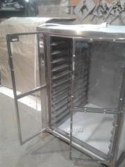 Расстоечный шкаф из нержавеющей стали 810х700х1100 12 ур