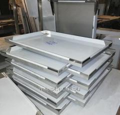 Противень 600х400х20,  нержавеющая сталь...