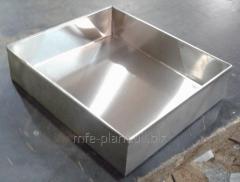 Противень 600х800х70,  нержавеющая сталь...