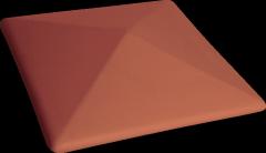 PRZYSUCHA Klinkier fence elements, Model: (01) Red