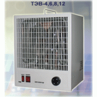 TEV electrofan heaters, Dnipropetrovsk