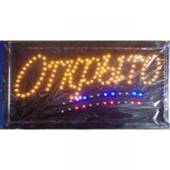 Вывеска LED Открыто CH3202 (Euroline)
