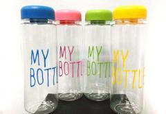 Фитнес бутылочка My BOTTLE (цветная/пластик)