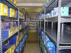 Racks half-internal for shops