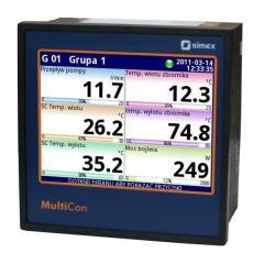 Многоканальный-контроллер-безбумажный регистратор