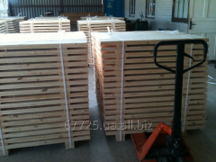 Preparation for pallets
