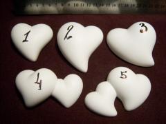 Гипсовое сердце