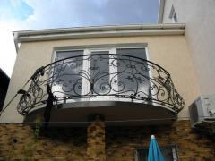 Ограждения для балконов кованые,художественная