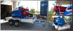The mixer for foam concrete (mobile)